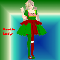 [MMD COLLAB] Cookie Lady by Isabeladenicola