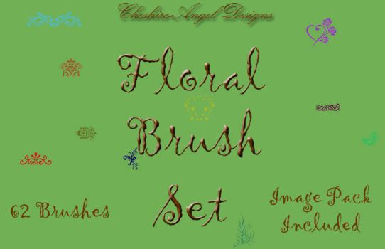 Floral Borders by Cheshire-Angel