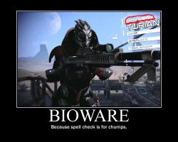 BioWare Needs No Spell Checks! by soren7550