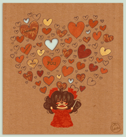 Happy hearts day by Landale