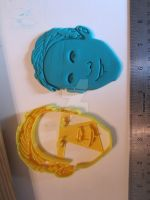 Ryan Gosling Cookie Cutter by B2Squared