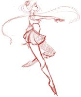 sailor moon sketch by rinnana
