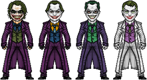 The Joker (Variants) by UltimateLomeli
