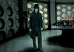 Noel Fielding as the Doctor by Elmic-Toboo