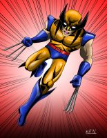 W is for Wolverine by nickbeta26