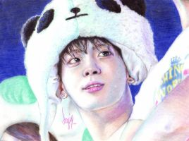 [SHINee Jonghyun] Puppy wanna be panda ^^ by AngieKrasiva