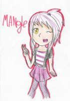 Mangle human by ChicaSuperKiller