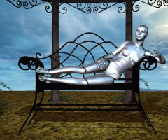Relaxing Robot by silverexpress