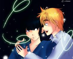 +APH+ Love is glowing tonight by Albablue