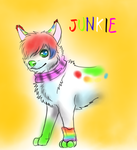 Character sketch - Junkie by FuriarossaAndMimma