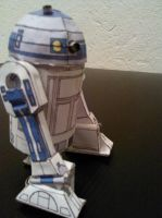 R2-D2 Papercraft by christopherdepaula