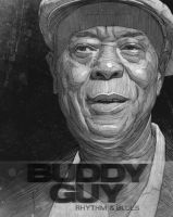 Buddy Guy poster by StDamos