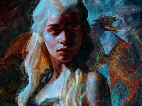 Khaleesi by Olga-Tereshenko