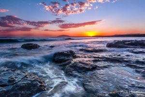 Gerroa Sunset by andyhutchinson