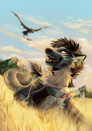 Chase all the clouds from the sky by Jeniak