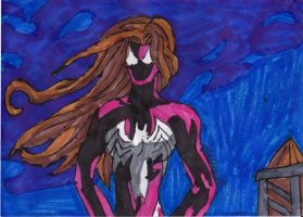 Ultimate Spider Woman by ChahlesXavier