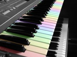 the colors of music. by givepeaceeachance