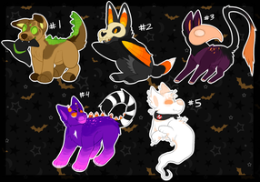 Halloween Auction 01 {#4 OPEN} by catdoq