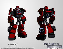 TF:Ignition - Ironhide (Cybertron Robot Mode) by KrisSmithDW