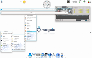Angelic theme Mageia by verdegal37