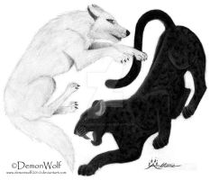 Yin Yang for Life by demonwolf2010