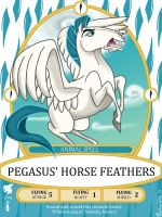 Pegasus Spell Card by MarchingStitch