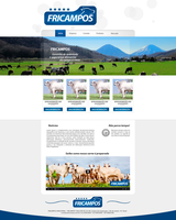 WEBSITE - FRICAMPOS by diegowd