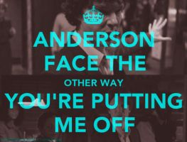 Anderson, Face the Other Way by alotofmillion