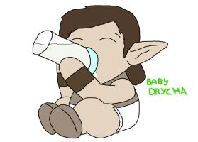 Baby Drycha by Scimew