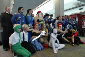 Fullmetal Alchemist: Group Shot - Fanime 2012 by AtomicBrownie