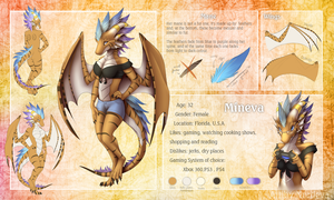 Mineva Ref - commission by Nordeva