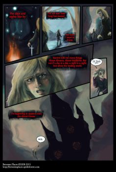 Between Places volume 2 page 1 by calthyechild