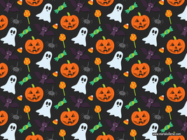 Halloween Pattern by KellerAC