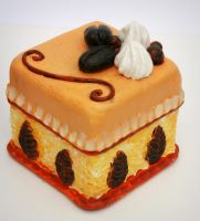 paperclay cake by bgerr
