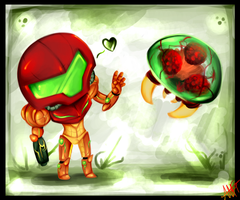 Mini Metroid by WalkingMelonsAAA