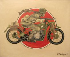 American Motorcycle Trooper by MrErixon