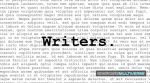 WRITERS by saganich