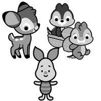 Disney Cuties brush pack 2 by SweetStolenCookie