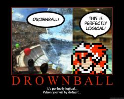 Drownball DeM Poster by AlterationA