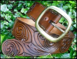 FOR SALE Celtic 'La Tene' Belt by Half-Goat