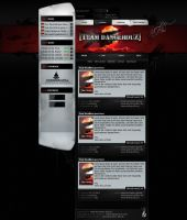Team DangerouZ Website by luchAdor-GFX
