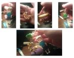 Adventure time keychain by Alexandria-Paige