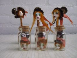 Bottled Madhatters by SoDarkSoCute