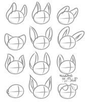 Templates of ears by WizzDono