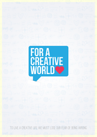 For A Creative World Poster by UJz