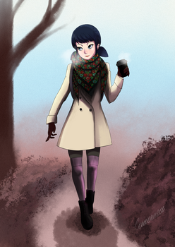 Marinette Dupain-Cheng: Russian look by louverusee