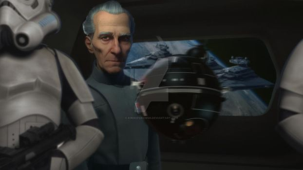 Grand Moff Tarkin by KingofCrow09