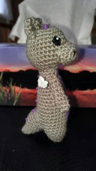 tiny TallDragon - side by TehKnittyKitty