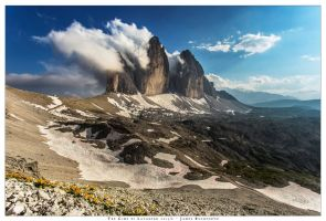The Tre Cime di Lavaredo by JamesRushforth