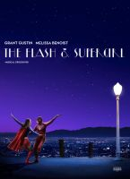 The Flash and Supergirl Musical Crossover Poster by Timetravel6000v2